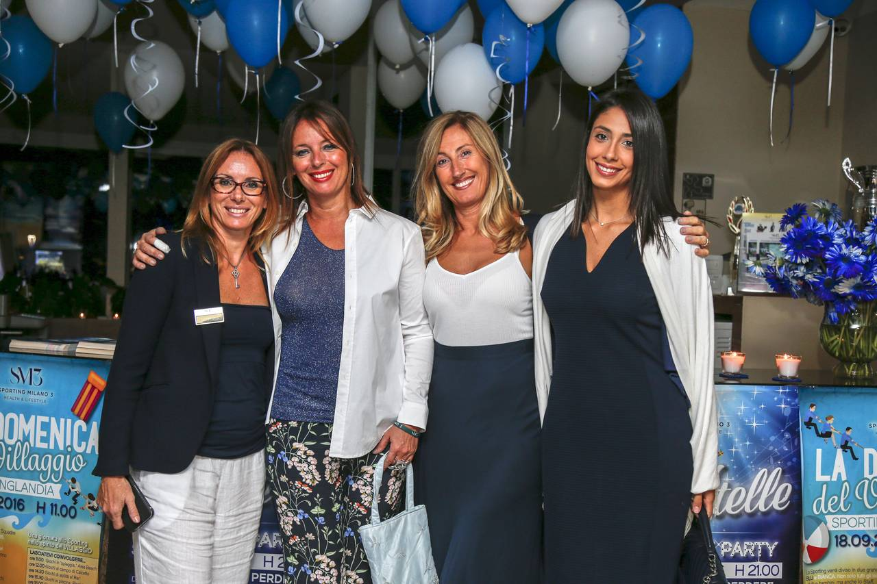 Blu & white party sabato 17 settembre 2016
