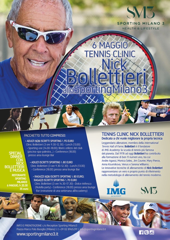 Clinic Nick Bollettieri