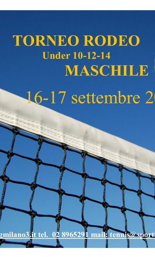 Torneo rodeo maschile 2017